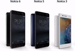 Nokia 6 5 et 3